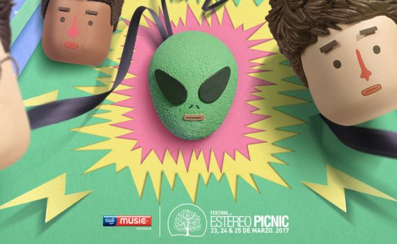 cartel-estereo-picnic-tres-hombres-un-marciano-en-el-centro-logo-tigo-music